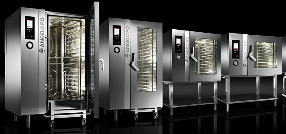Combined ovens and pizza ovens